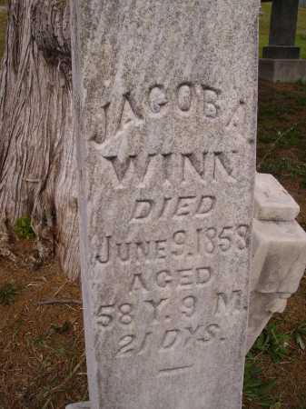 WINN, JACOB A.  - CLOSEVIEW - Meigs County, Ohio | JACOB A.  - CLOSEVIEW WINN - Ohio Gravestone Photos