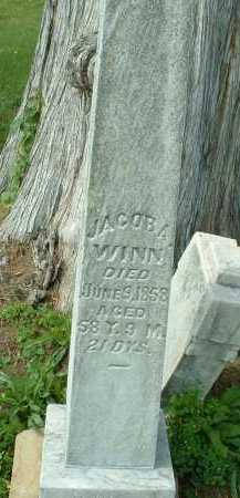 WINN, JACOB - Meigs County, Ohio   JACOB WINN - Ohio Gravestone Photos