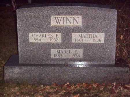 WINN, MARTHA M. - Meigs County, Ohio | MARTHA M. WINN - Ohio Gravestone Photos