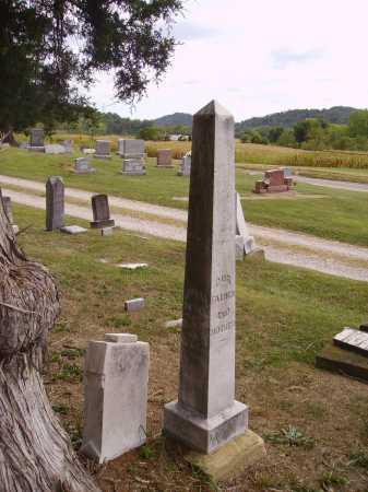 WINN MONUMENT, JULIA & JACOB - Meigs County, Ohio   JULIA & JACOB WINN MONUMENT - Ohio Gravestone Photos