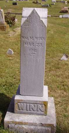 WINN, WILLIAM M. - Meigs County, Ohio | WILLIAM M. WINN - Ohio Gravestone Photos