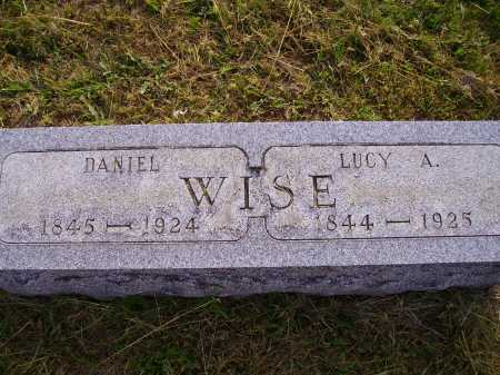 WISE, LUCY ANN - Meigs County, Ohio | LUCY ANN WISE - Ohio Gravestone Photos