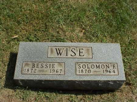 WISE, SOLOMON F. - Meigs County, Ohio | SOLOMON F. WISE - Ohio Gravestone Photos