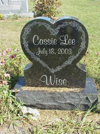 WISE, CASSIE L. - Meigs County, Ohio | CASSIE L. WISE - Ohio Gravestone Photos