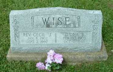 WISE, LEONA B. - Meigs County, Ohio | LEONA B. WISE - Ohio Gravestone Photos