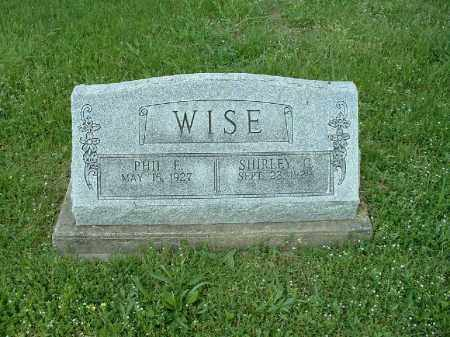 WISE, SHIRLEY G - Meigs County, Ohio | SHIRLEY G WISE - Ohio Gravestone Photos