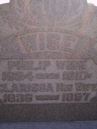 BISSELL WISE, CLARISSA - CLOSEVIEW - Meigs County, Ohio | CLARISSA - CLOSEVIEW BISSELL WISE - Ohio Gravestone Photos
