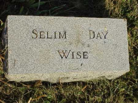 WISE, SELIM DAY - Meigs County, Ohio | SELIM DAY WISE - Ohio Gravestone Photos