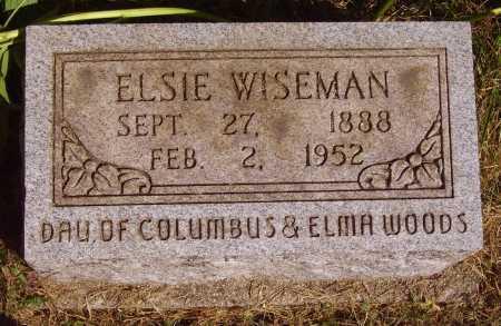 WISEMAN, ELSIE - Meigs County, Ohio | ELSIE WISEMAN - Ohio Gravestone Photos