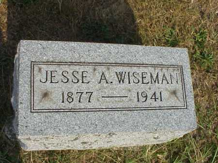 WISEMAN, JESSE A. - Meigs County, Ohio | JESSE A. WISEMAN - Ohio Gravestone Photos