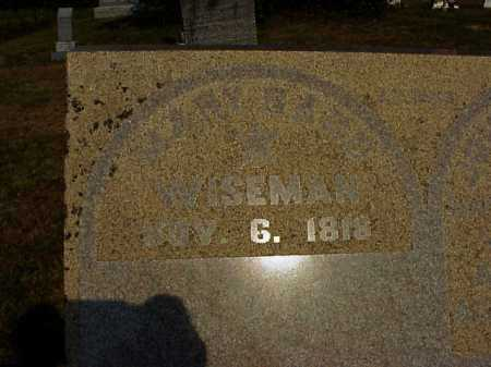 WISEMAN, MARY - Meigs County, Ohio | MARY WISEMAN - Ohio Gravestone Photos