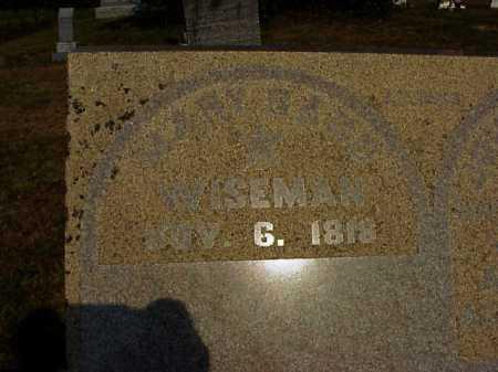 BARD WISEMAN, MARY - Meigs County, Ohio | MARY BARD WISEMAN - Ohio Gravestone Photos