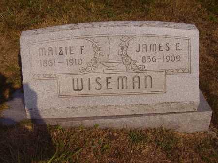 WISEMAN, JAMES E. - Meigs County, Ohio | JAMES E. WISEMAN - Ohio Gravestone Photos