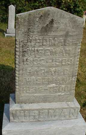 WISEMAN, SARAH - Meigs County, Ohio | SARAH WISEMAN - Ohio Gravestone Photos