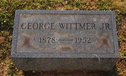 WITTMER, GEORGE JR - Meigs County, Ohio | GEORGE JR WITTMER - Ohio Gravestone Photos