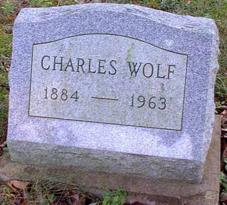 WOLF, CHARLES - Meigs County, Ohio | CHARLES WOLF - Ohio Gravestone Photos