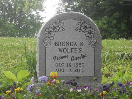 NORTH WOLFE, BRENDA - Meigs County, Ohio | BRENDA NORTH WOLFE - Ohio Gravestone Photos