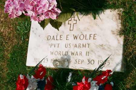 WOLFE, DALE E. - Meigs County, Ohio | DALE E. WOLFE - Ohio Gravestone Photos