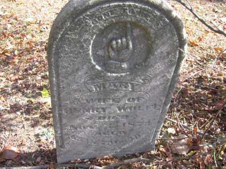 WOLFE, MARY - Meigs County, Ohio   MARY WOLFE - Ohio Gravestone Photos