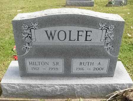 SALSER WOLFE, RUTH ARMINTA - Meigs County, Ohio | RUTH ARMINTA SALSER WOLFE - Ohio Gravestone Photos