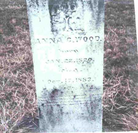 WOOD, ANNA C. - Meigs County, Ohio | ANNA C. WOOD - Ohio Gravestone Photos