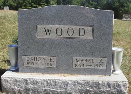 WOOD, DAILEY E. - Meigs County, Ohio | DAILEY E. WOOD - Ohio Gravestone Photos