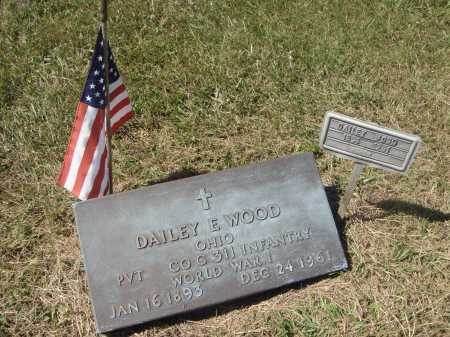 WOOD, DAILEY E. - MILITARY - OVERALL VIEW - Meigs County, Ohio | DAILEY E. - MILITARY - OVERALL VIEW WOOD - Ohio Gravestone Photos