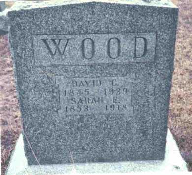 WOOD, SARAH E. - Meigs County, Ohio | SARAH E. WOOD - Ohio Gravestone Photos