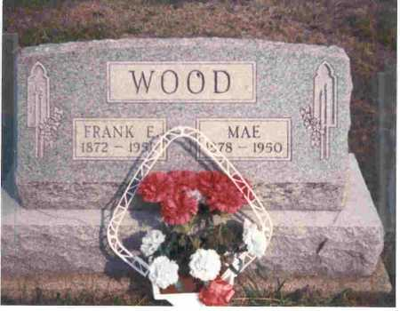 WOOD, FRANCIS,  FRANK E. - Meigs County, Ohio | FRANCIS,  FRANK E. WOOD - Ohio Gravestone Photos