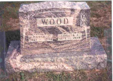 WILCOX WOOD, LOUISA - Meigs County, Ohio | LOUISA WILCOX WOOD - Ohio Gravestone Photos