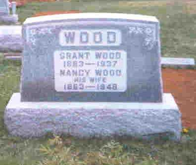 WOOD, GRANT - Meigs County, Ohio | GRANT WOOD - Ohio Gravestone Photos
