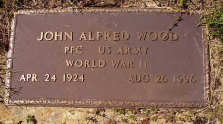 WOOD, JOHN ALFRED - MILITARY - Meigs County, Ohio | JOHN ALFRED - MILITARY WOOD - Ohio Gravestone Photos