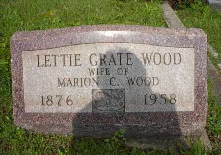 WOOD, LETTIE - Meigs County, Ohio | LETTIE WOOD - Ohio Gravestone Photos