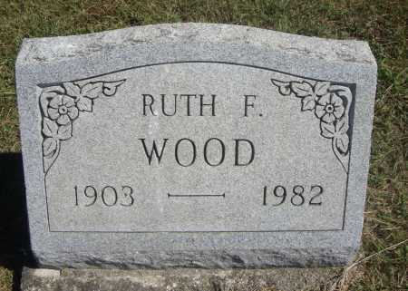 WOOD, RUTH F. - Meigs County, Ohio | RUTH F. WOOD - Ohio Gravestone Photos