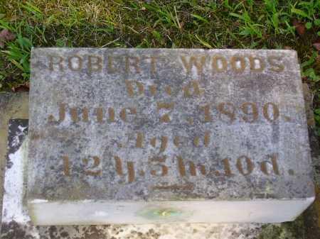 WOODS, ROBERT - Meigs County, Ohio | ROBERT WOODS - Ohio Gravestone Photos