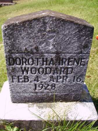 WOODARD, DOROTHA IRENE - Meigs County, Ohio | DOROTHA IRENE WOODARD - Ohio Gravestone Photos