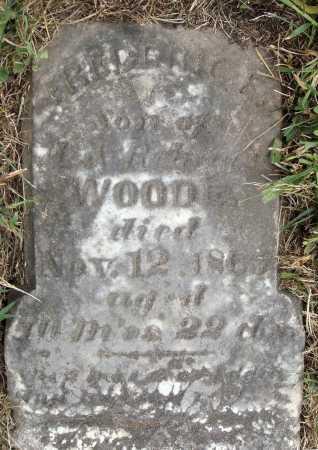 WOODE, FREDERICK E. - VIEW 1 - Meigs County, Ohio | FREDERICK E. - VIEW 1 WOODE - Ohio Gravestone Photos