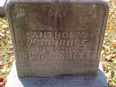 WOODRUFF, PLESSA - Meigs County, Ohio | PLESSA WOODRUFF - Ohio Gravestone Photos
