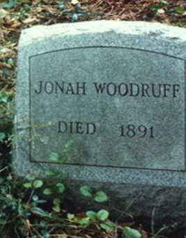 WOODRUFF, JONAH - Meigs County, Ohio | JONAH WOODRUFF - Ohio Gravestone Photos
