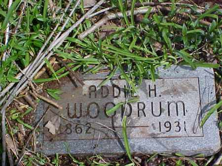 WOODRUM, ADDIE H. - Meigs County, Ohio | ADDIE H. WOODRUM - Ohio Gravestone Photos