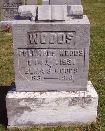 WOODS, ELMA S. - Meigs County, Ohio | ELMA S. WOODS - Ohio Gravestone Photos