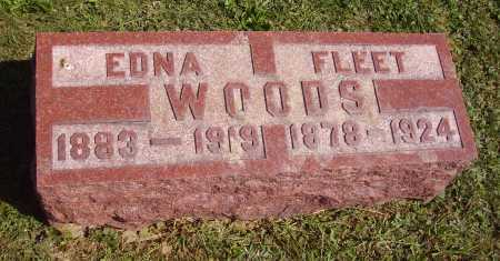 WILLIAMS WOODS, EDNA - Meigs County, Ohio | EDNA WILLIAMS WOODS - Ohio Gravestone Photos