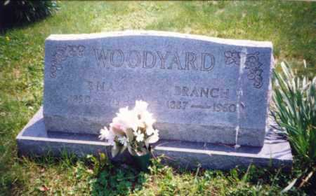 WOODYARD, BRANCH - Meigs County, Ohio | BRANCH WOODYARD - Ohio Gravestone Photos