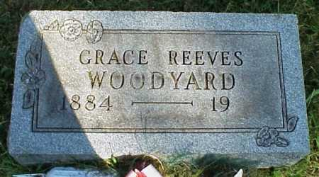 REEVES WOODYARD, GRACE - Meigs County, Ohio | GRACE REEVES WOODYARD - Ohio Gravestone Photos