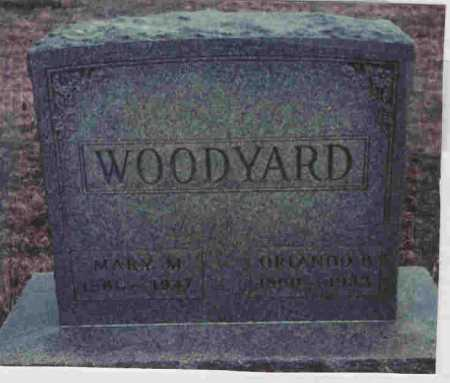 SISSON WOODYARD, MARY - Meigs County, Ohio | MARY SISSON WOODYARD - Ohio Gravestone Photos