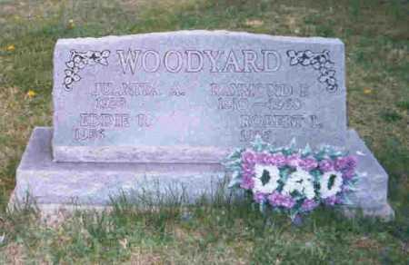 WOODYARD, RAYMOND E. - Meigs County, Ohio | RAYMOND E. WOODYARD - Ohio Gravestone Photos