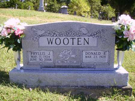 WOOTEN, DONALD E. - Meigs County, Ohio | DONALD E. WOOTEN - Ohio Gravestone Photos