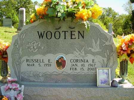 WOOTEN, CORINIA ELIZABETH - Meigs County, Ohio | CORINIA ELIZABETH WOOTEN - Ohio Gravestone Photos
