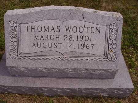 WOOTEN, THOMAS - Meigs County, Ohio | THOMAS WOOTEN - Ohio Gravestone Photos