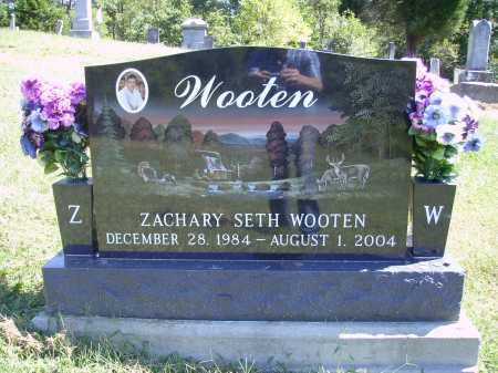 WOOTEN, ZACHARY SETH - Meigs County, Ohio   ZACHARY SETH WOOTEN - Ohio Gravestone Photos